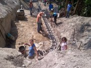 North Point - Retaining Wall at La Finca